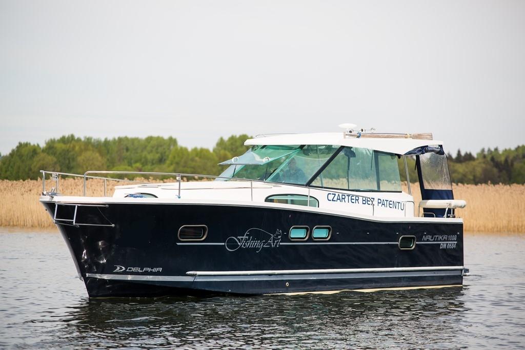 Nautika 1000 Jacht Motorowy Czarter łodzi Czarter