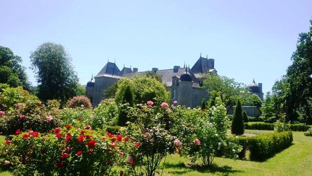 roseraie du Château de la Touche-Trébry