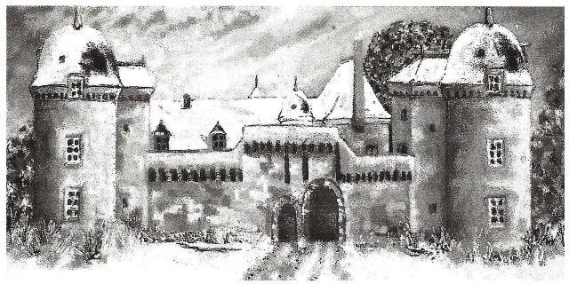 Tableau historique du Château de la Touche-Trébry