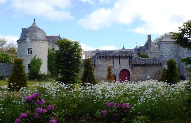 Esplanade du Château de la Touche-Trébry