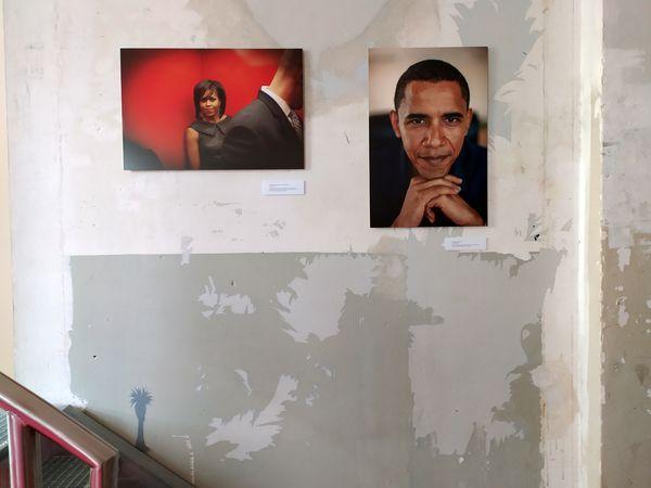 Anke Wolfert: In der Fotoausstellung im Amerikahaus in München