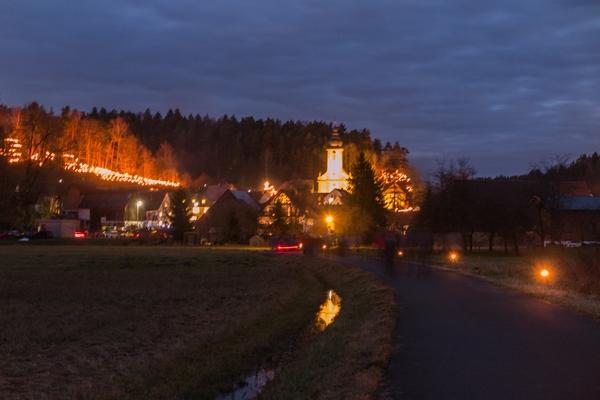 Anke Wolfert: Fußweg nach Nankendorf