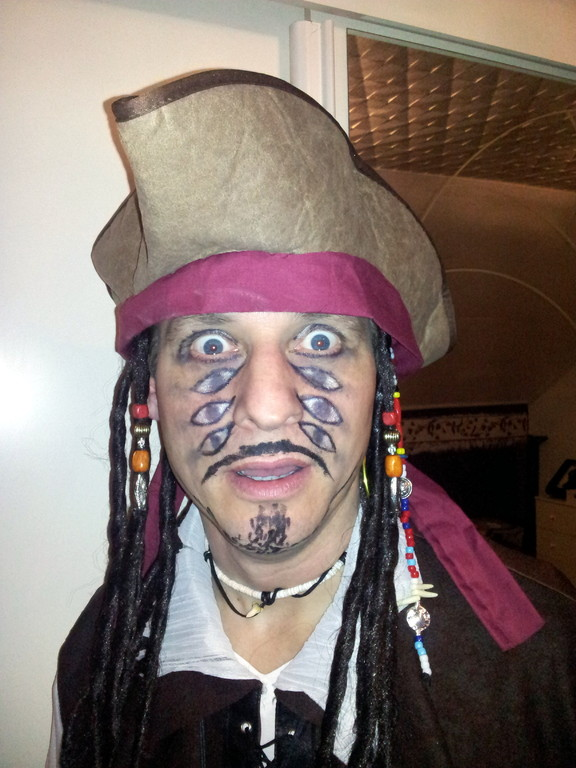 Capitan Jack Sparrow im 2 ten Teil