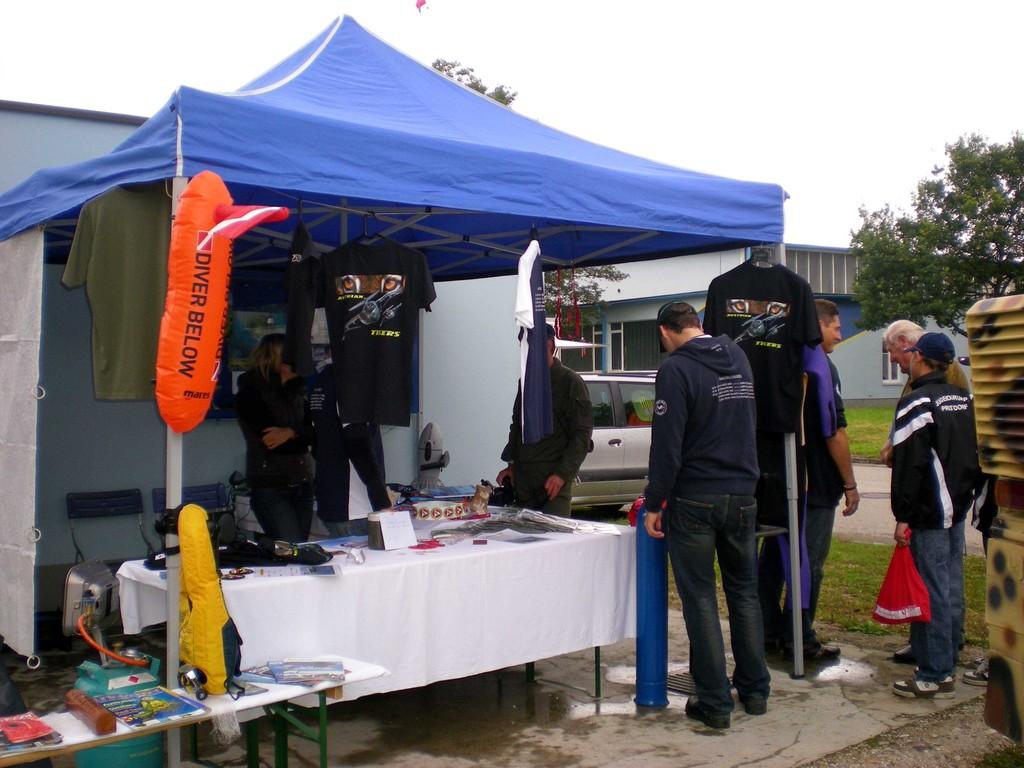 HSV-Infostand beim Tag der offenen Tür in Wels am 12.09.09