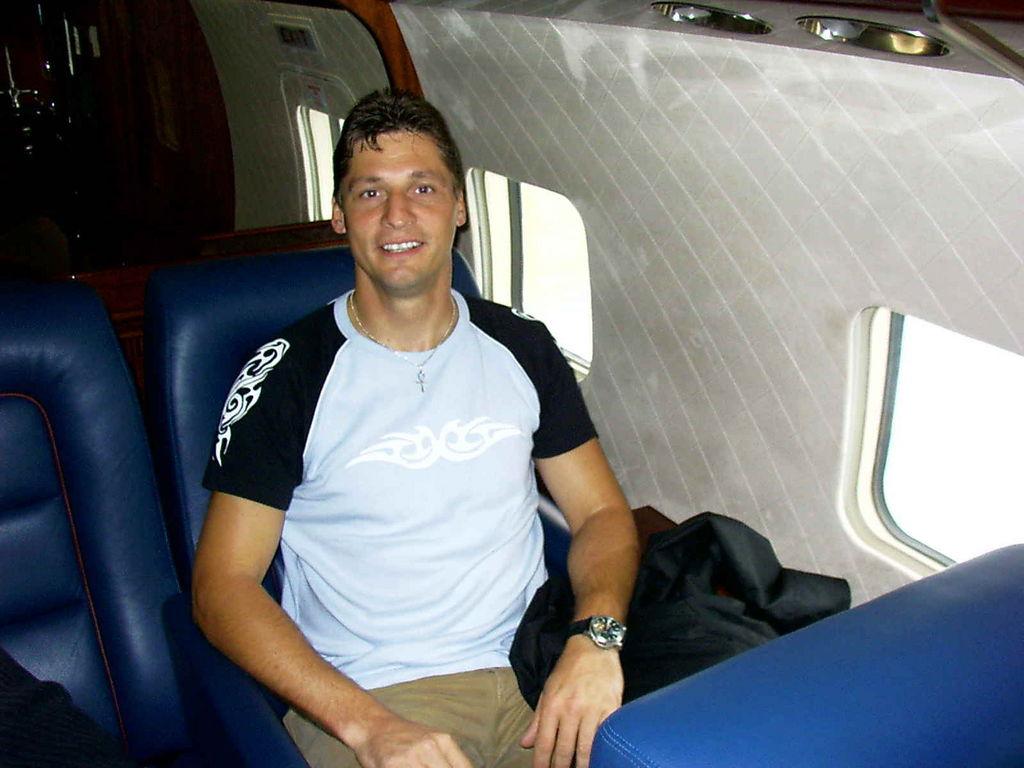 Flug mit der DC6 von Red Bull