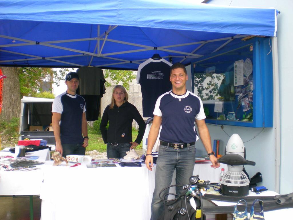 HSV Infostand -Tag der offenen Tür 2009 Wels