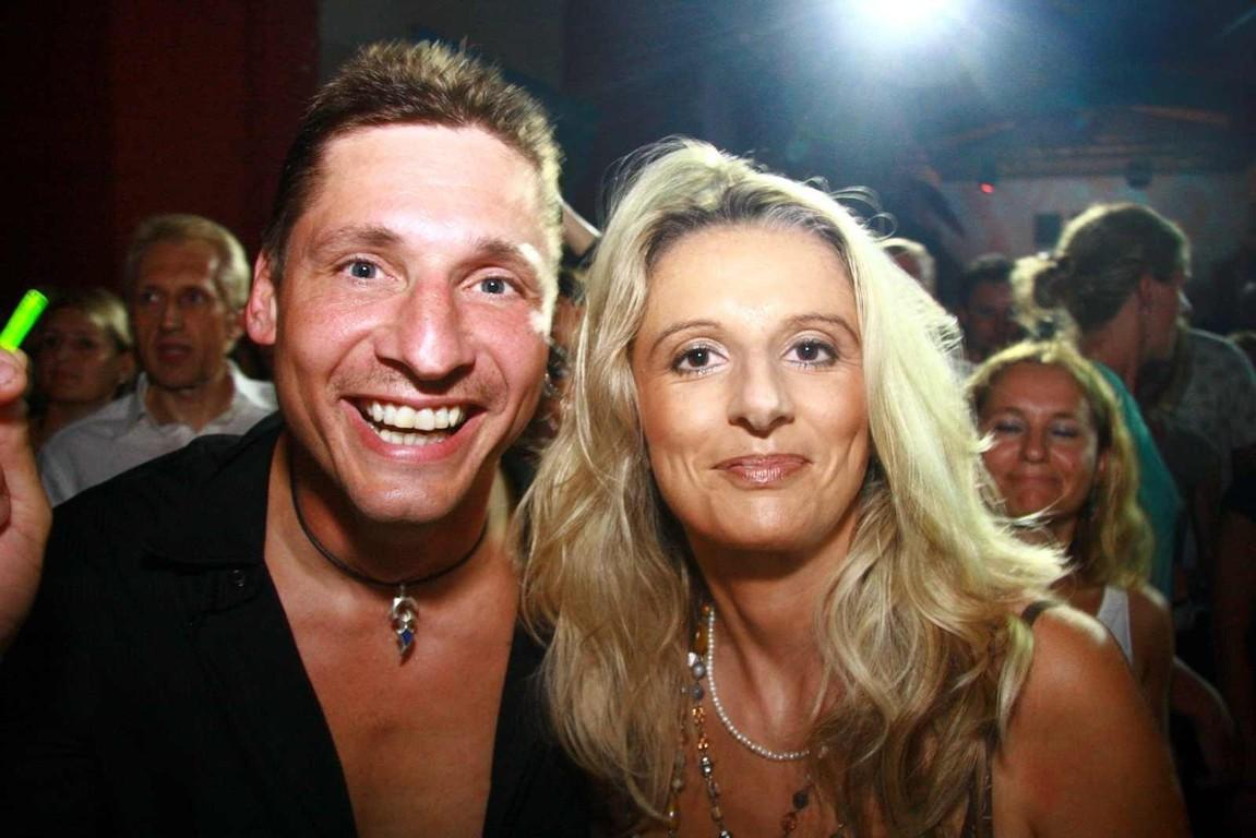 Monika und ich bei der Ü30 Party