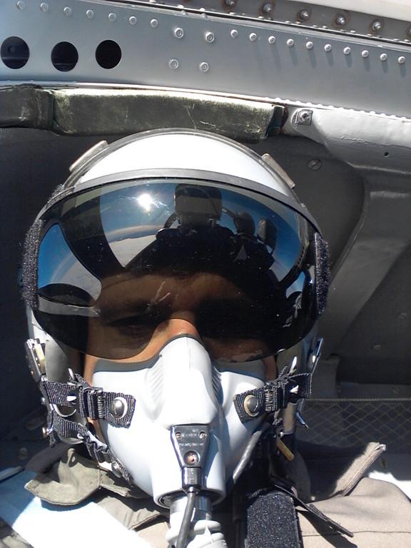 Mitflug mit dem Düsenjet Saab 105 Ö
