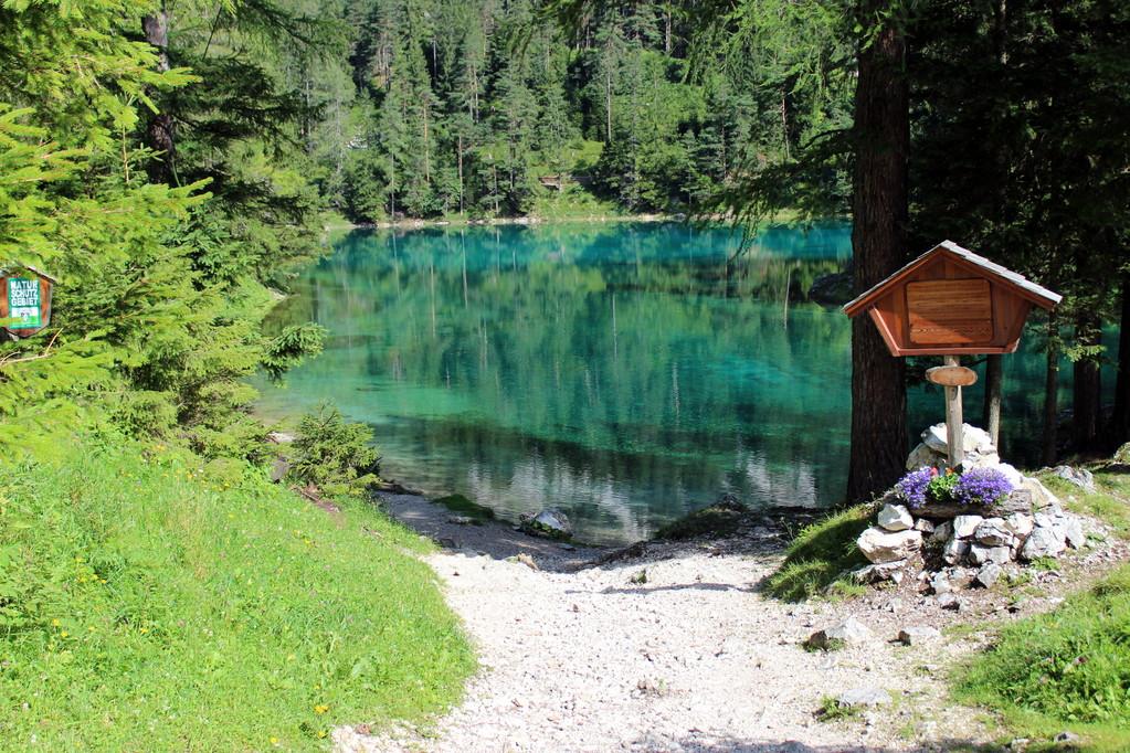Ankunft am Grüner See 776m