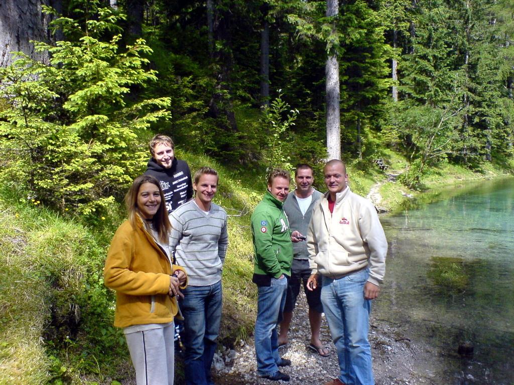 Tauchschüler am Grüner See