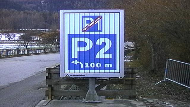 Prismavision Bruneck Kronplatz: Parkleitsystem