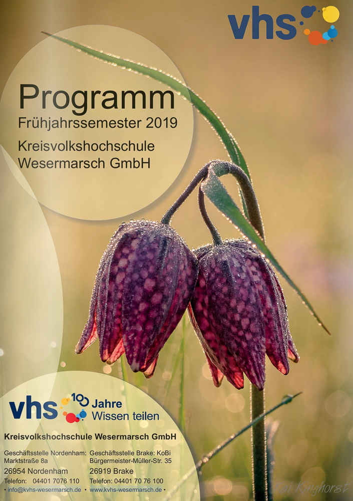 KVHS-Wesermarsch Programmheft FS 2019