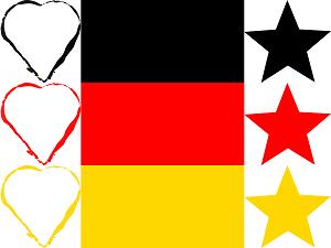 Dieses  Bild von Thorsten Hülsberg zeigt das BALLacker-dÜsign Liebe Deine Stars.