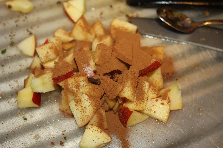 Nochmal lecker Apfel mit Zimt und Nelke …