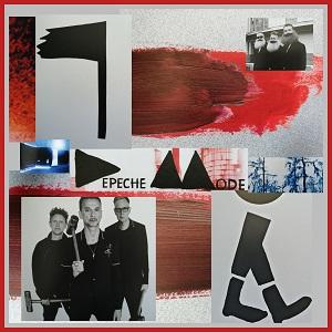 Diese Fotocollage von Thorsten Hülsberg beschäftigt sich mit dem Artwork  zu Delta Machine und Spirit von Depeche Mode.