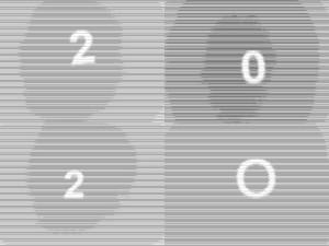 Diese Bild von Thorsten Hülsberg zeigt über zwei Zeilen in Grautönen künstlerisch gestaltet: 2020.