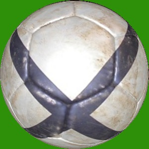 Dieses Bild von Thorsten Hülsberg zeigt einen Fußball auf BALLackergrünem Grund.
