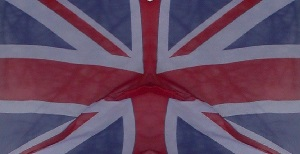 Dieses Farbfoto von Thorsten Hülsberg zeigt die britische Flagge.