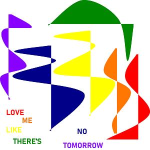 Dieses RAINBOWarea-dÜsign von Thorsten Hülsberg beschäftigt sich farbenprächtig mit der ganz großen Liebe.