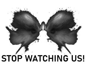Dieses Bild aus einer GRAUzonen-Reihe von Thorsten Hülsberg zeigt, wie Kunst gegen Überwachung aussehen kann.
