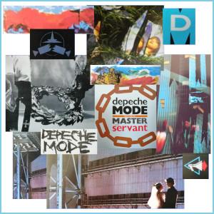 Dieses Bild von Thorsten Hülsberg ist eine Collage verschiedener Coverausschnitte von Depeche Mode aus den Jahren 1984 bis 1986.