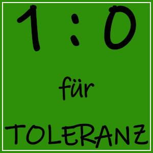 Dieses Bild von Thorsten Hülsberg zeigt auch dem üblichen Layout das BALLacker-dÜsign Toleranz in Führung.
