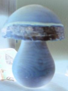 Dieses Bild von Thorsten Hülsberg zeigt einen digital stark verfremdeten Pilz.