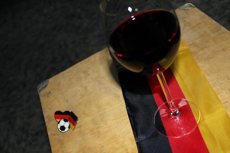 … passte beim Wein (en) zum Frankreichspiel ;-)