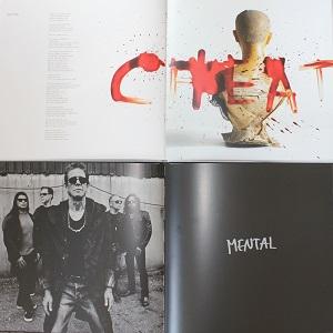 Dieser quadratische Farbfotoausschnitt von Thorsten Hülsberg zeigt die beiden Bücher zum Kollaborationsalbum von Lou Reed und Metallica aus dem Jahr 2011.