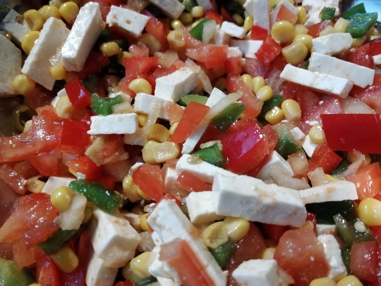 Kleine Salatpause und …