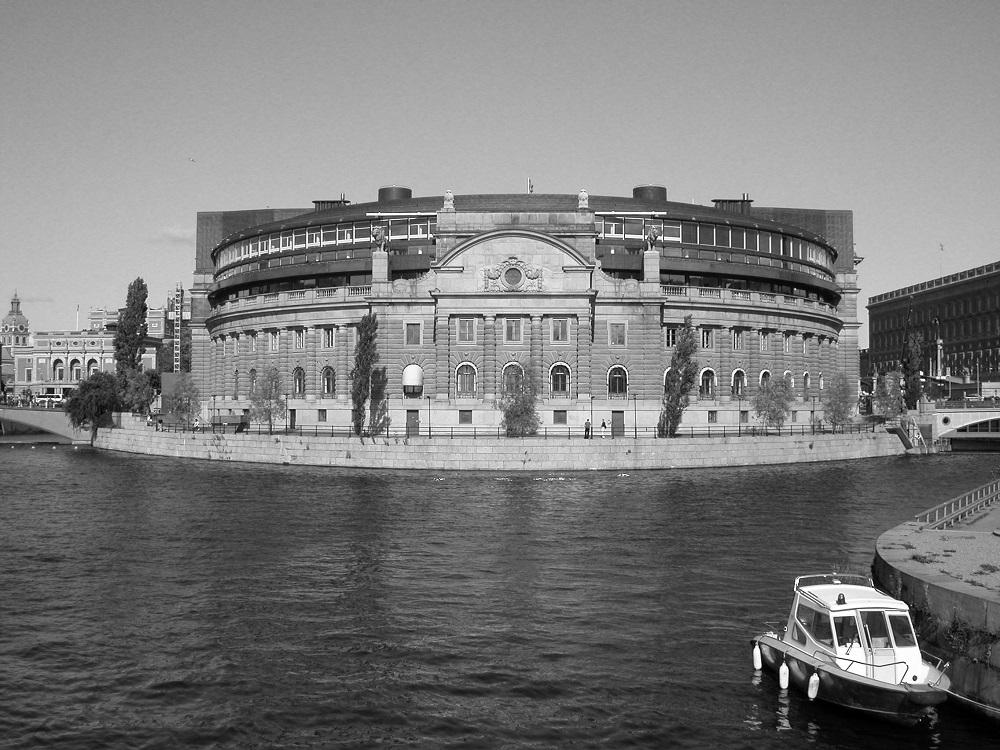 Stockholm houseboat