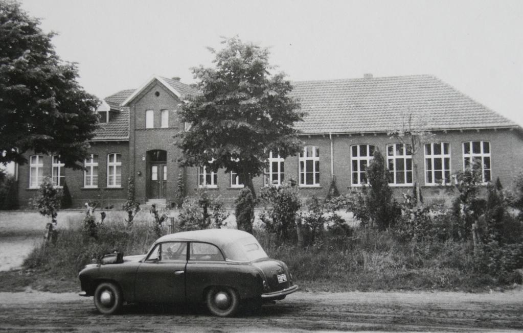 Alte Dorfschule Greven-Aldrup in den 60er Jahren