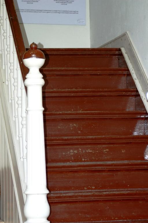 Treppenaufgang im Eingang
