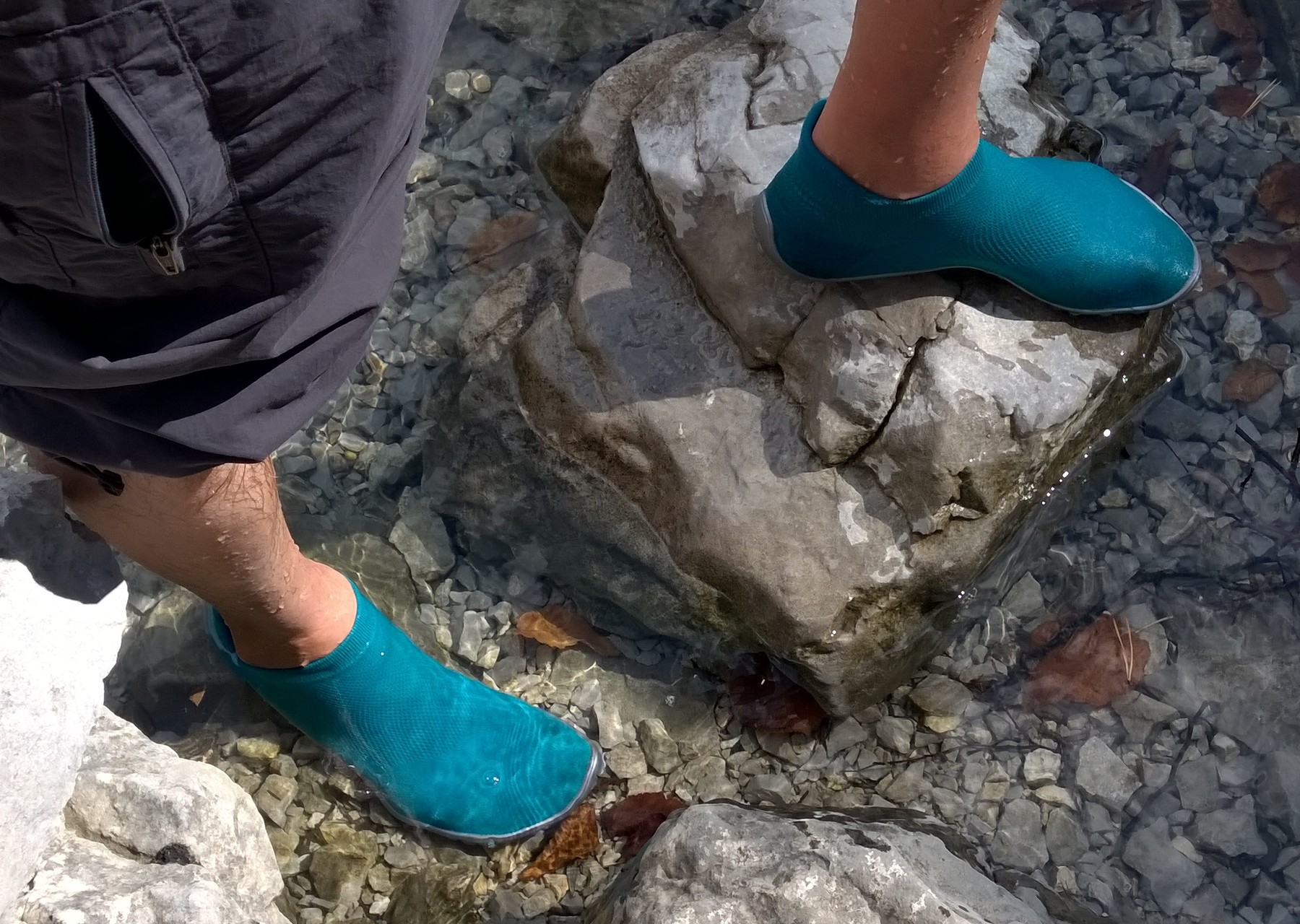 Wandern auf Meraner Höhenweg mit dem leguano® sneaker.