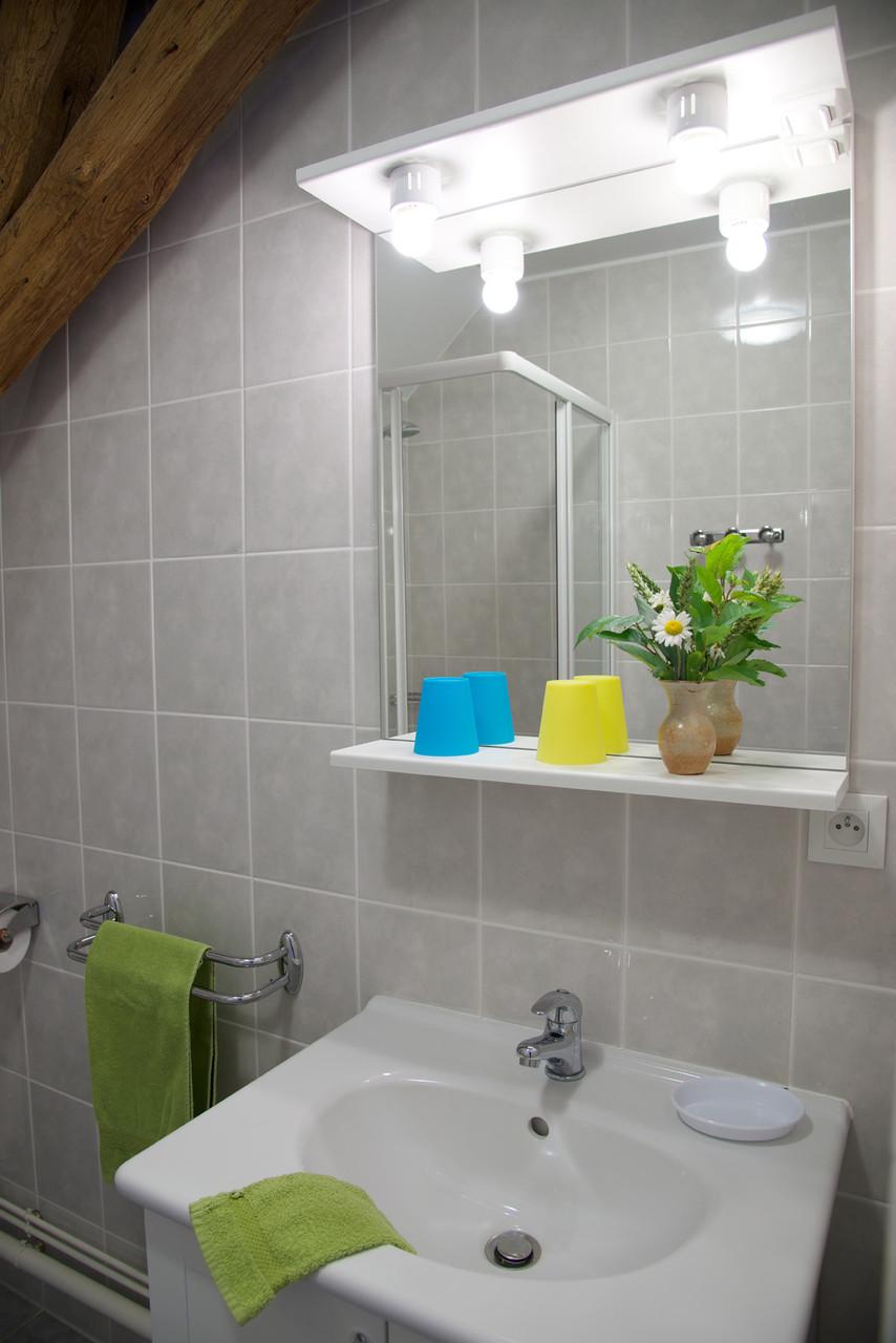 salle de bain chambre anthémis