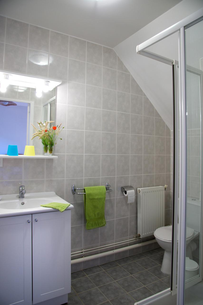 """salle de bain chambre """"Coquelicot"""""""