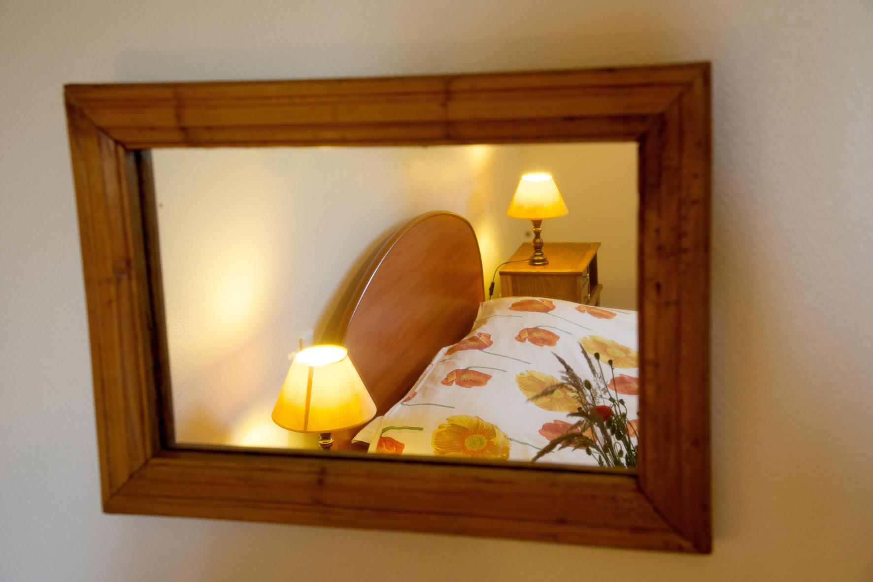 miroir chambre coquelicot