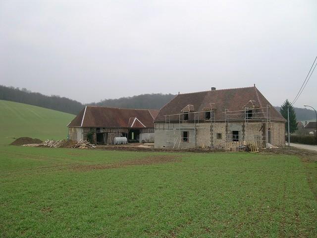 """travaux rénovation chambre d'hôtes """"les Furets""""-printemps 2004"""