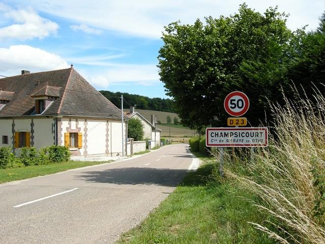 """chambre d'hôtes """"Les Furets"""" entrée de Champsicourt"""