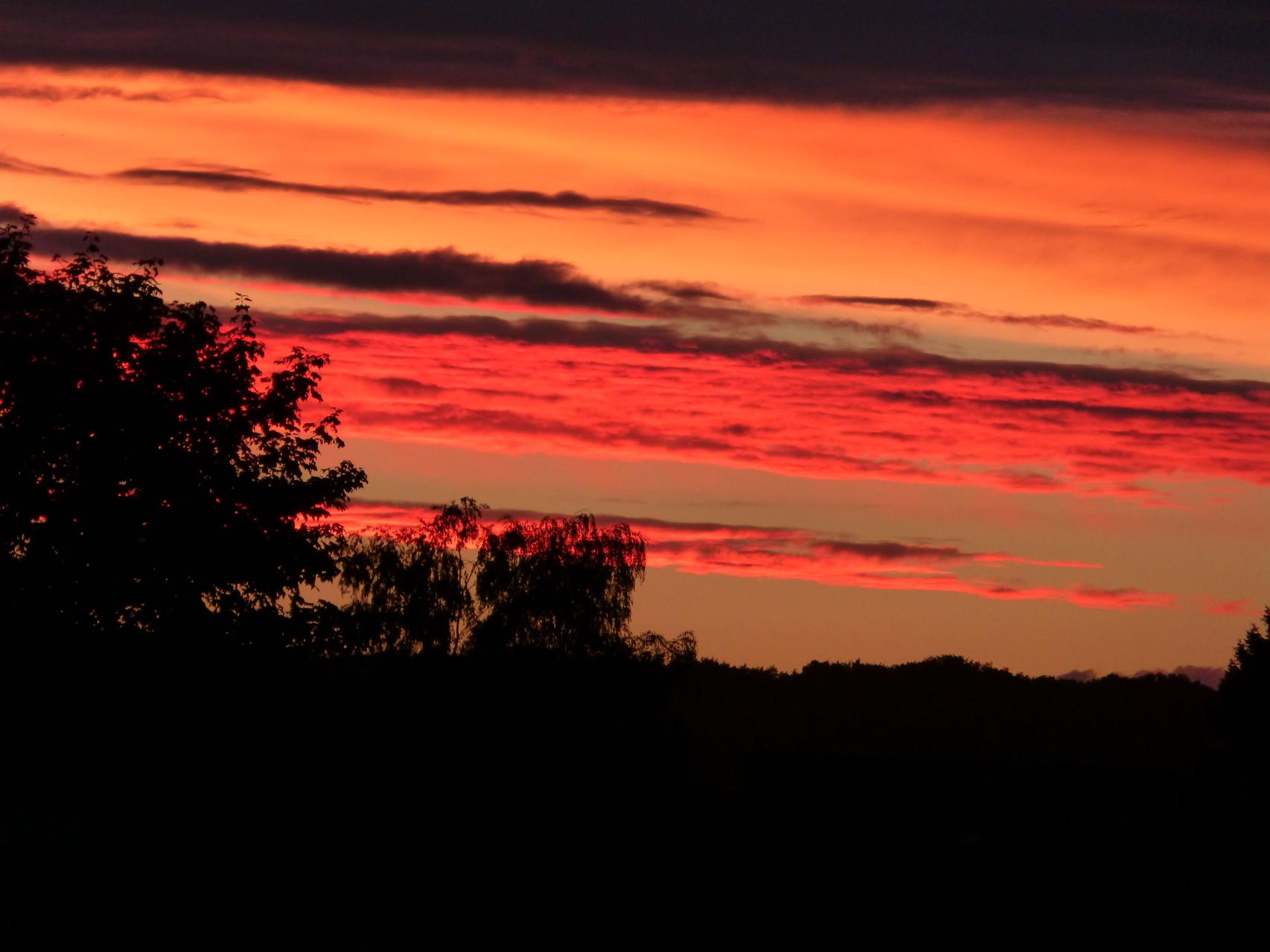coucher de soleil été 2014