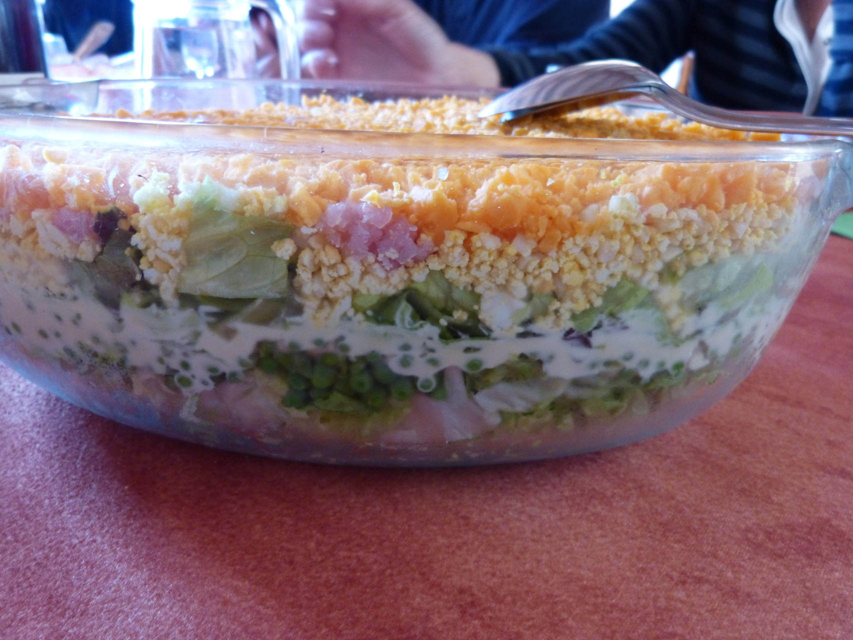 salade à étage