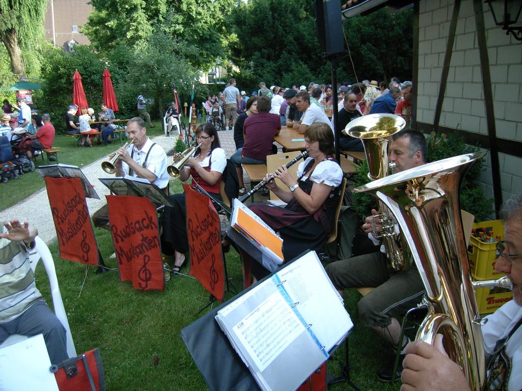 Rucksackmusikanten in Ursberg 23.06.2012