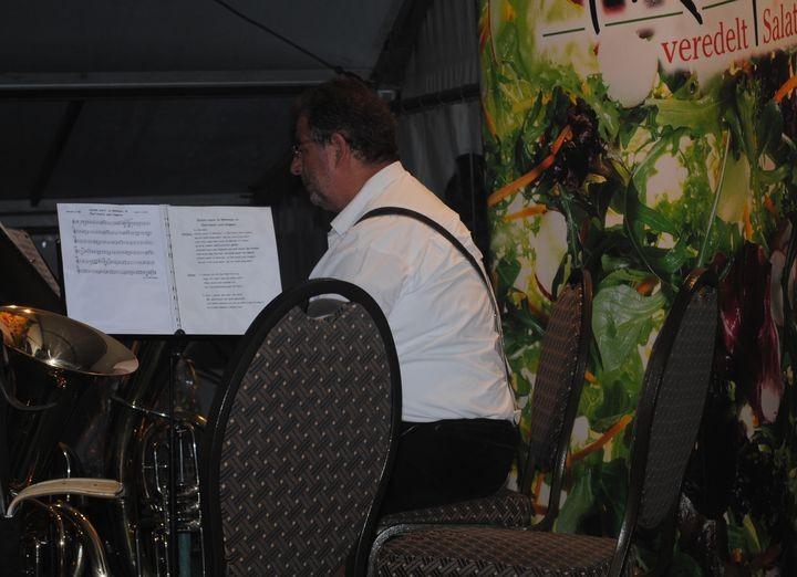bis zum .... unterhielten die Rucksackmusikanten die Festbesucher!
