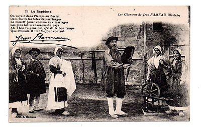 Jean RAMEAU, dernier sonneur de grande cornemuse nivernaise...
