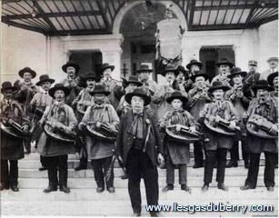 Première sortie à Trouville en 1924.