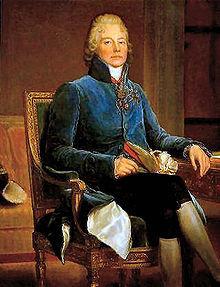 Talleyrand célèbre pour le château de Valençay.
