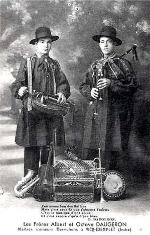 Les frères Albert & Octaves DAUGERON (virtuoses et multi instrumentiste)