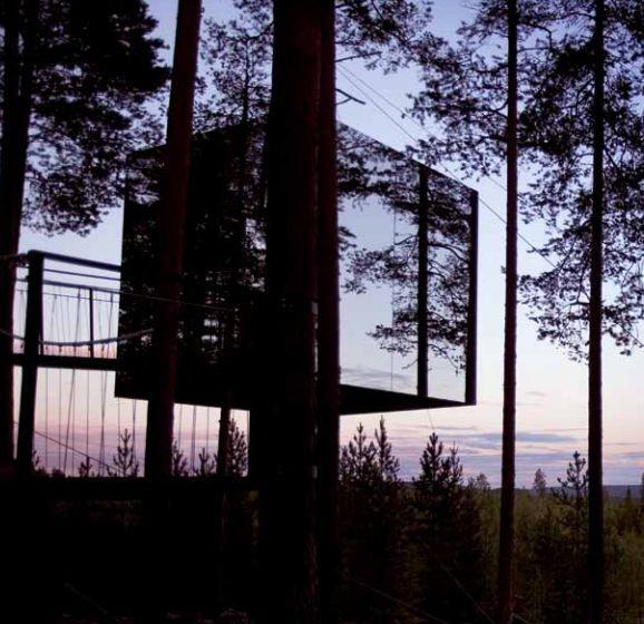 Treehotel in Schweden: Übernachten im Design-Baumhaus