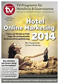 HOTEL TV PROGRAMM - März 2014