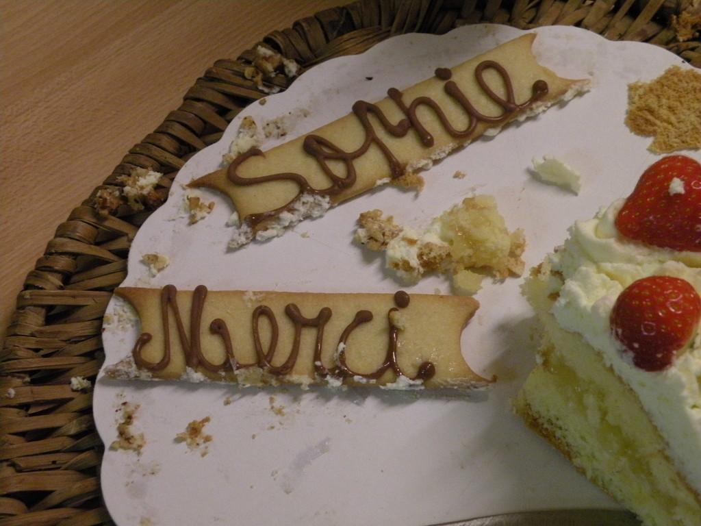 Un gâteau personnalisé ;-)))